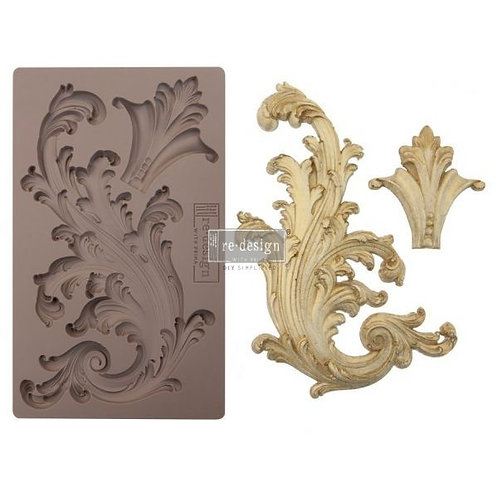 Redesign Moulds - Portico Scroll I