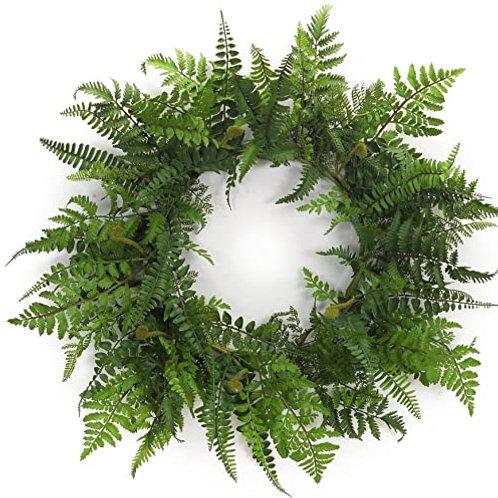 M.R. Fern Wreath