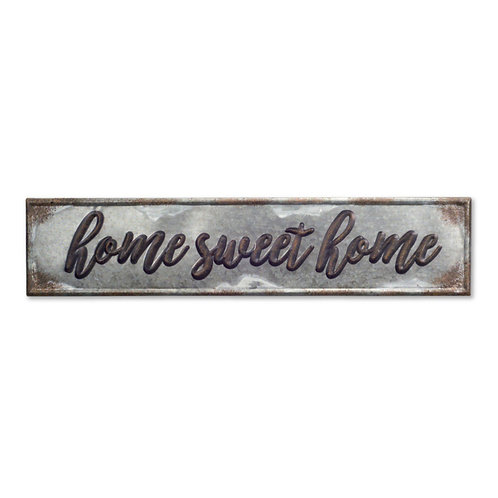 M.R. Home Sweet Home Plaque