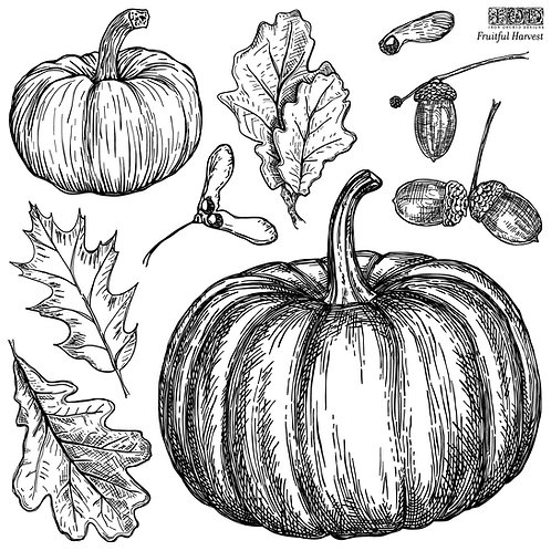 IOD Fruitful Harvest Stamp