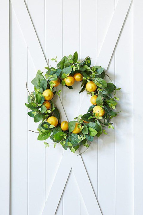 M.R. Lemon Wreath