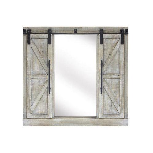 M.R. Barn Door Mirror