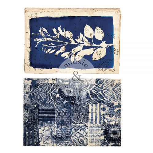 """Maisie + Willow Transfers ® Marine Prints 16""""x23"""" 2 sheets"""
