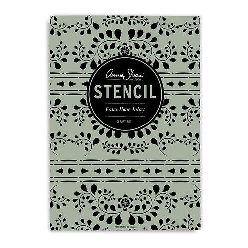 Stencil: Faux Bone Inlay by Annie Sloan