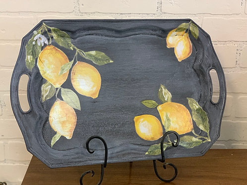 IOD Project Class Tray or Flower Pot