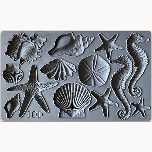 Sea Shells IOD Decor Moulds