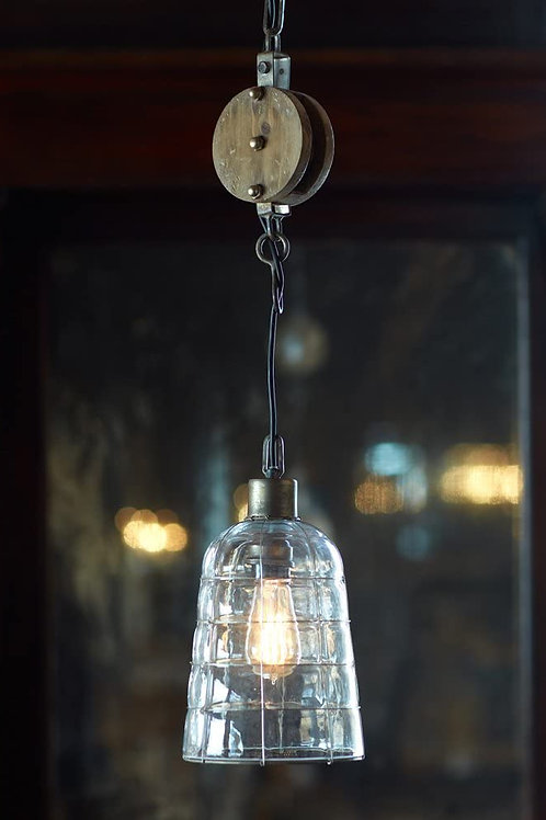 M.R. Pulley Pendant Light Fixture