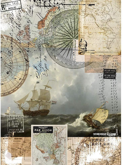 Redesign Transfer - On a Voyage