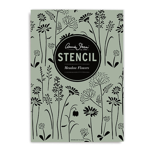Stencil: Meadow Flowers by Annie Sloan