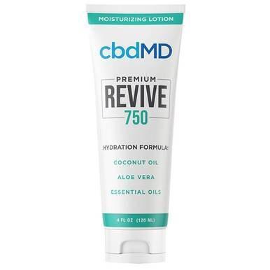 cbdMD - CBD Topical - Revive Moisturizing Lotion - 300mg-1500mg