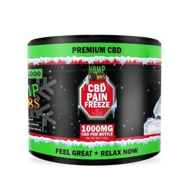 Hemp Bombs - CBD Topical - Pain Freeze - 100mg-1000mg