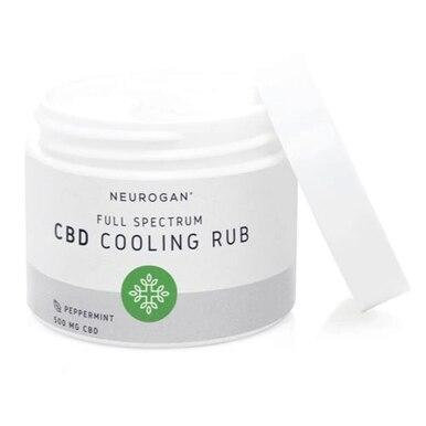 Neurogan, Inc. - CBD Topical - Full Spectrum Cooling Rub - 500mg-1000mg