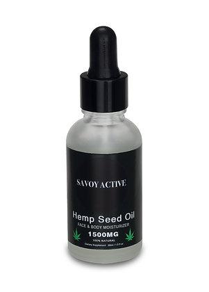 Hemp Seed Moisturizing Oil - Premium Grade - 100%