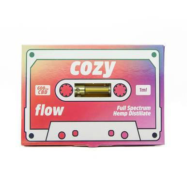 Cozy - CBD Vape Cartridge - Flow - 600mg