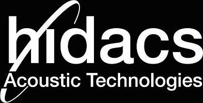 logo Hidacs spécialiste haut-parleur directionnel grande fidélité et solutions audio interactives