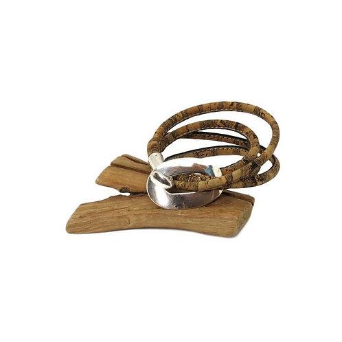 Bracelet double fermoir boucle