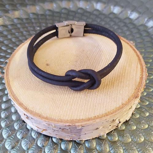 Bracelet en liège personnalisable pour homme