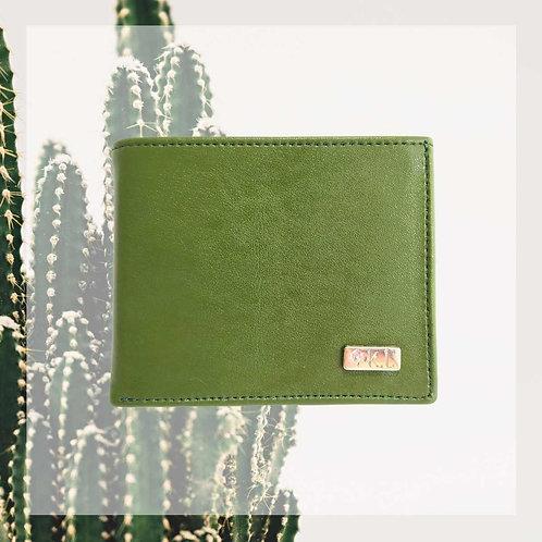 portefeuille vegan cuir de cactus végétal homme