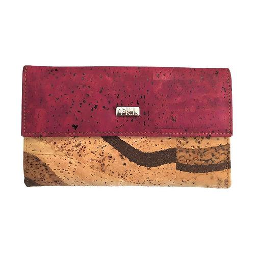 Grand portefeuille avec de nombreux rangements pour femme