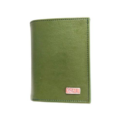 Porte-monnaie en cuir de cactus pour homme