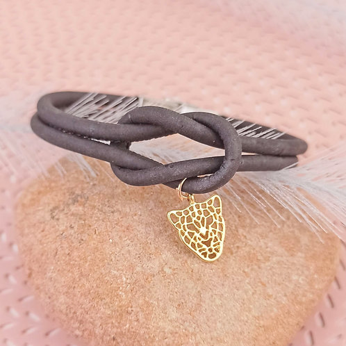 Bracelet en liège Panthère