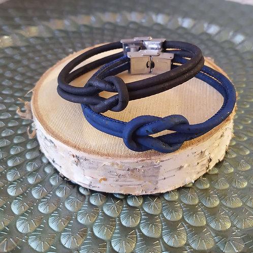 Bracelet en liège Marin
