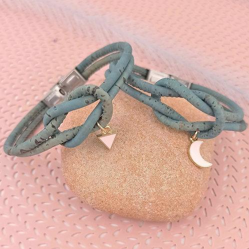 Bracelet en liège Śīla