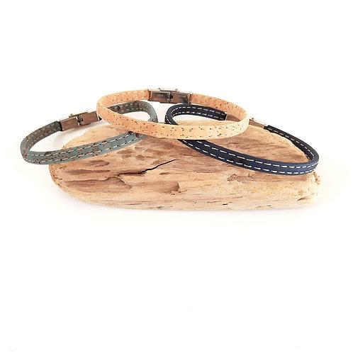 bracelet en liège homme vegan
