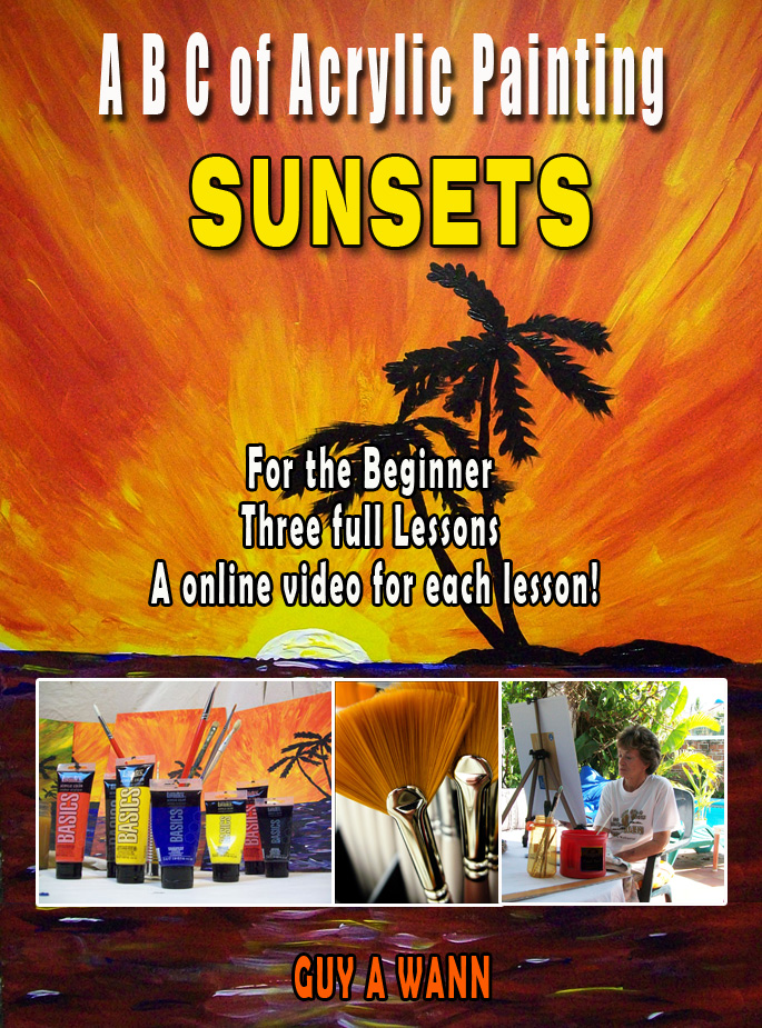 ABC on painting sunsets