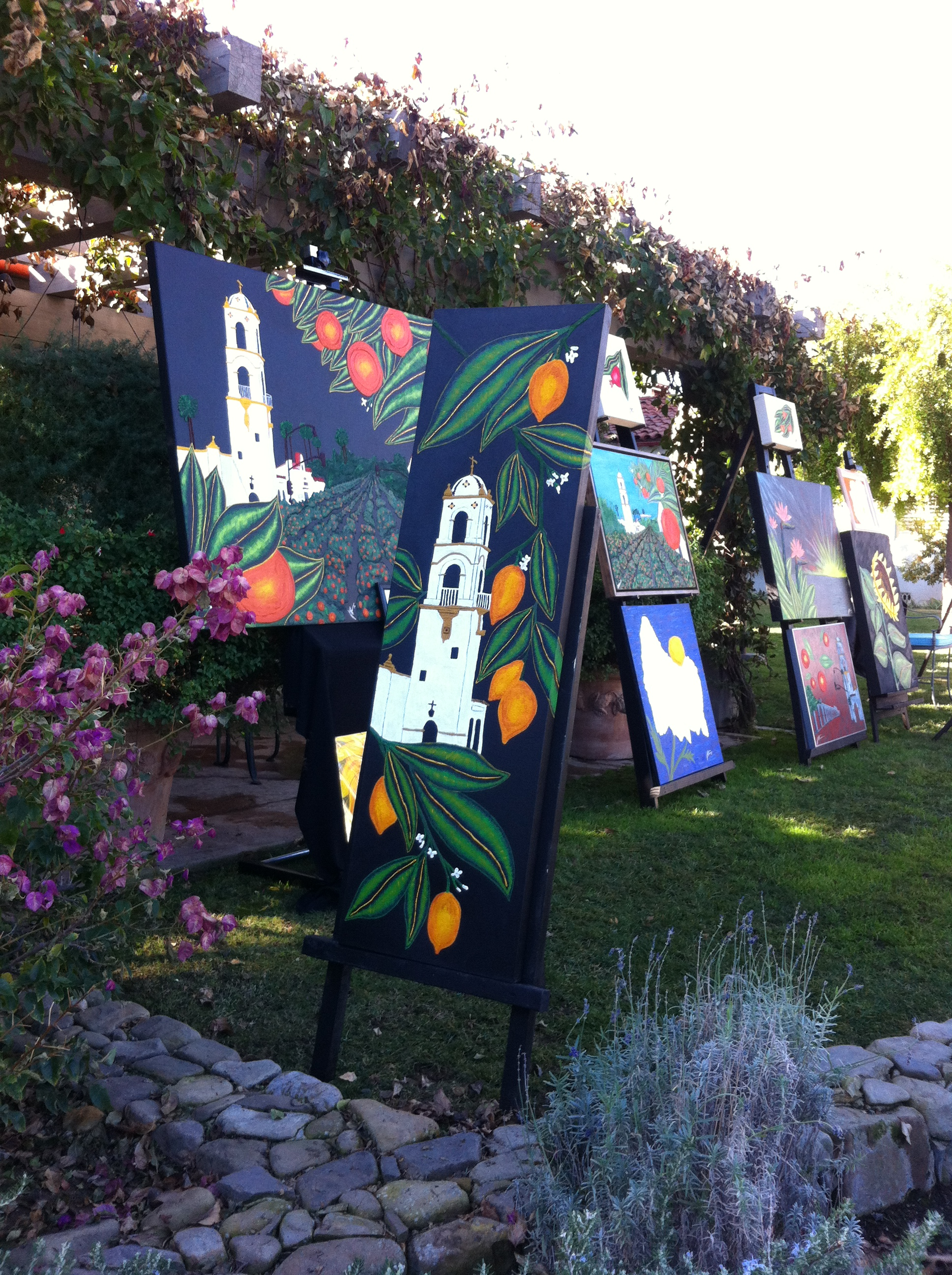 Ojai Valley Inn Art Show