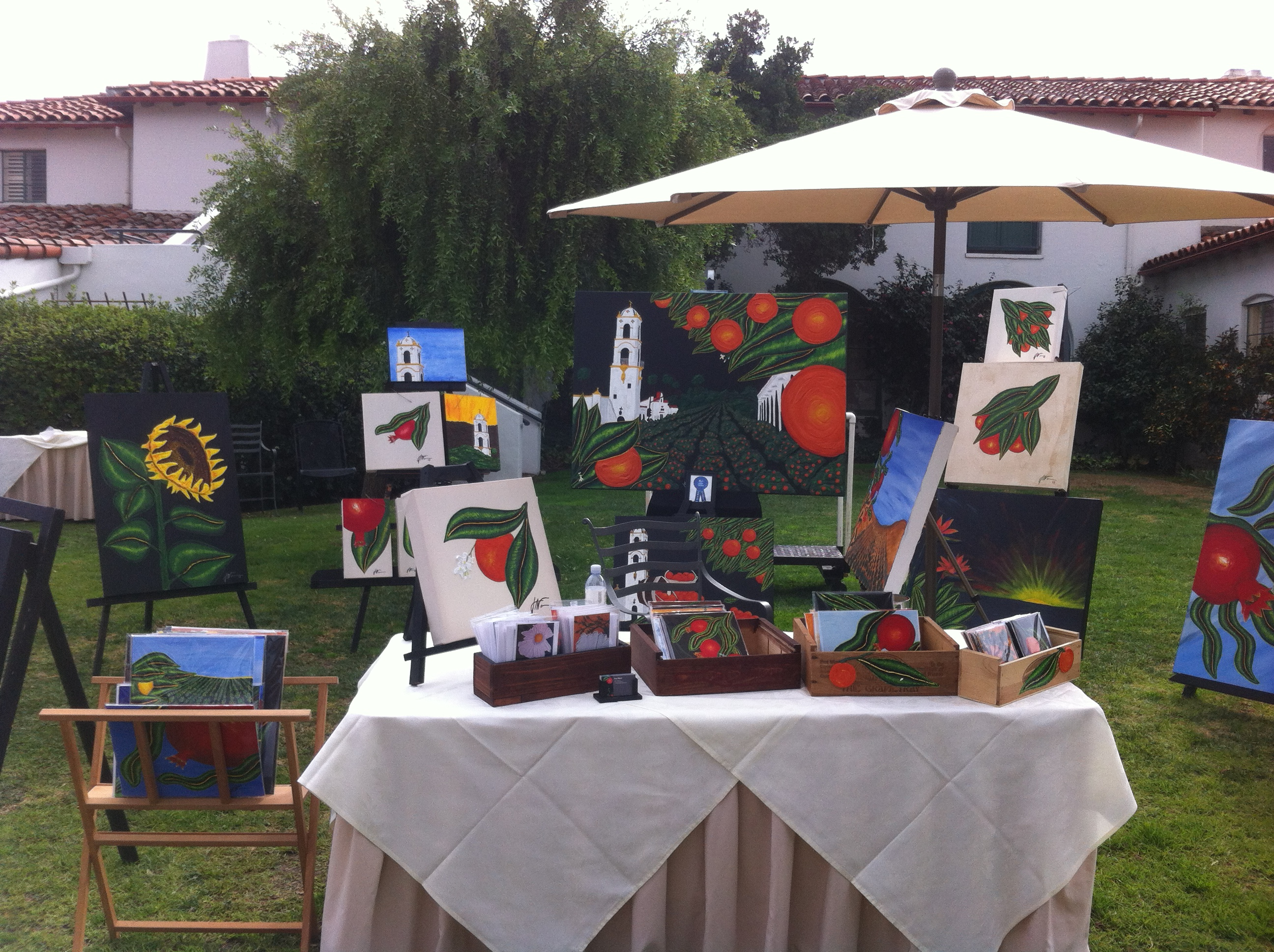 Ojai Valley Inn Art Show