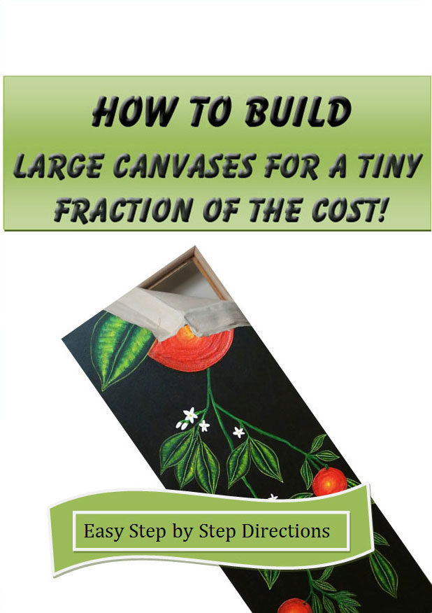 How to build large canvases
