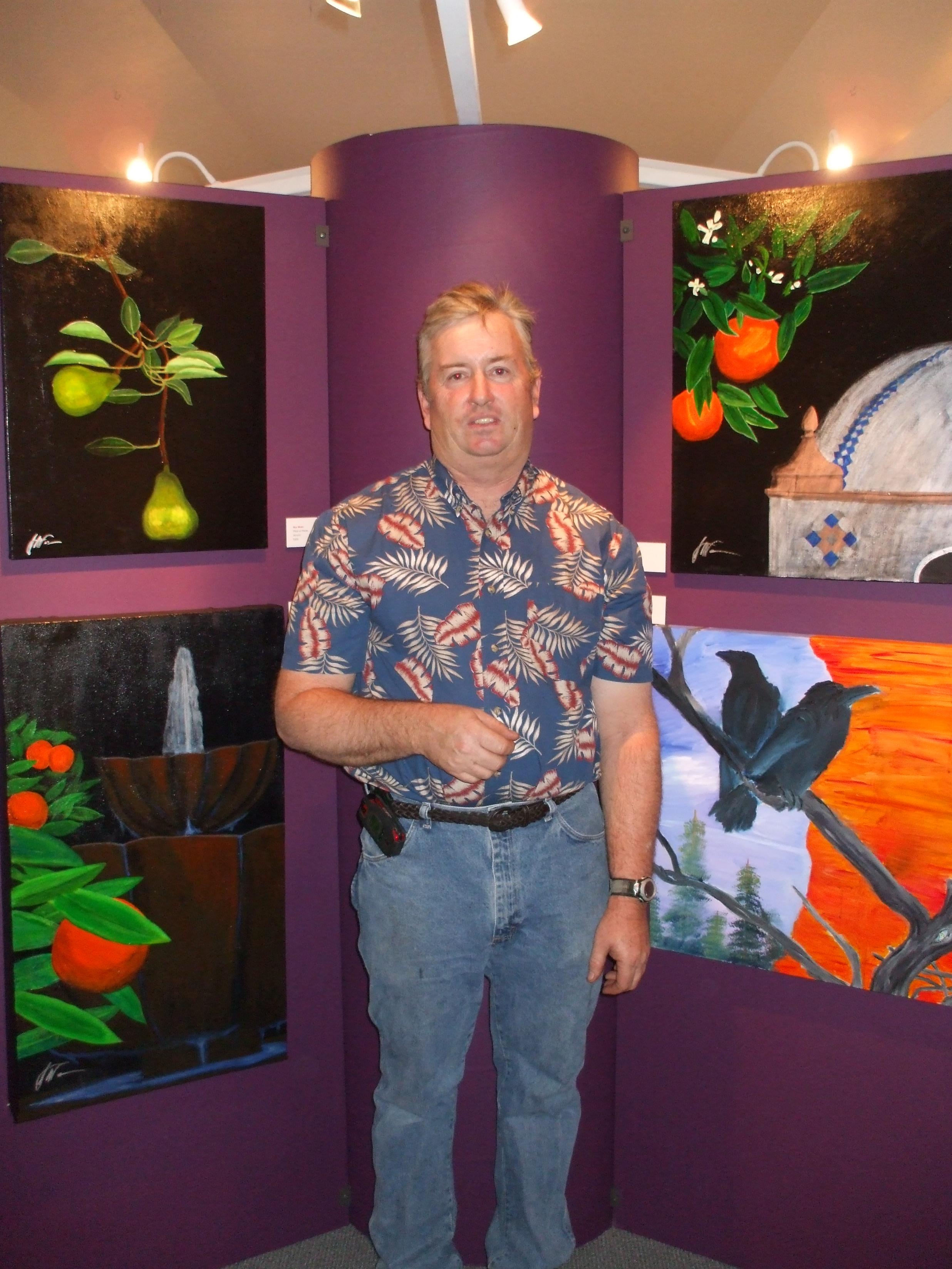 Art Show at the Ojai Musium.