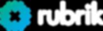 Rubrik Logo White