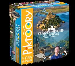 Boîte 3D debout Villages préférés.PN
