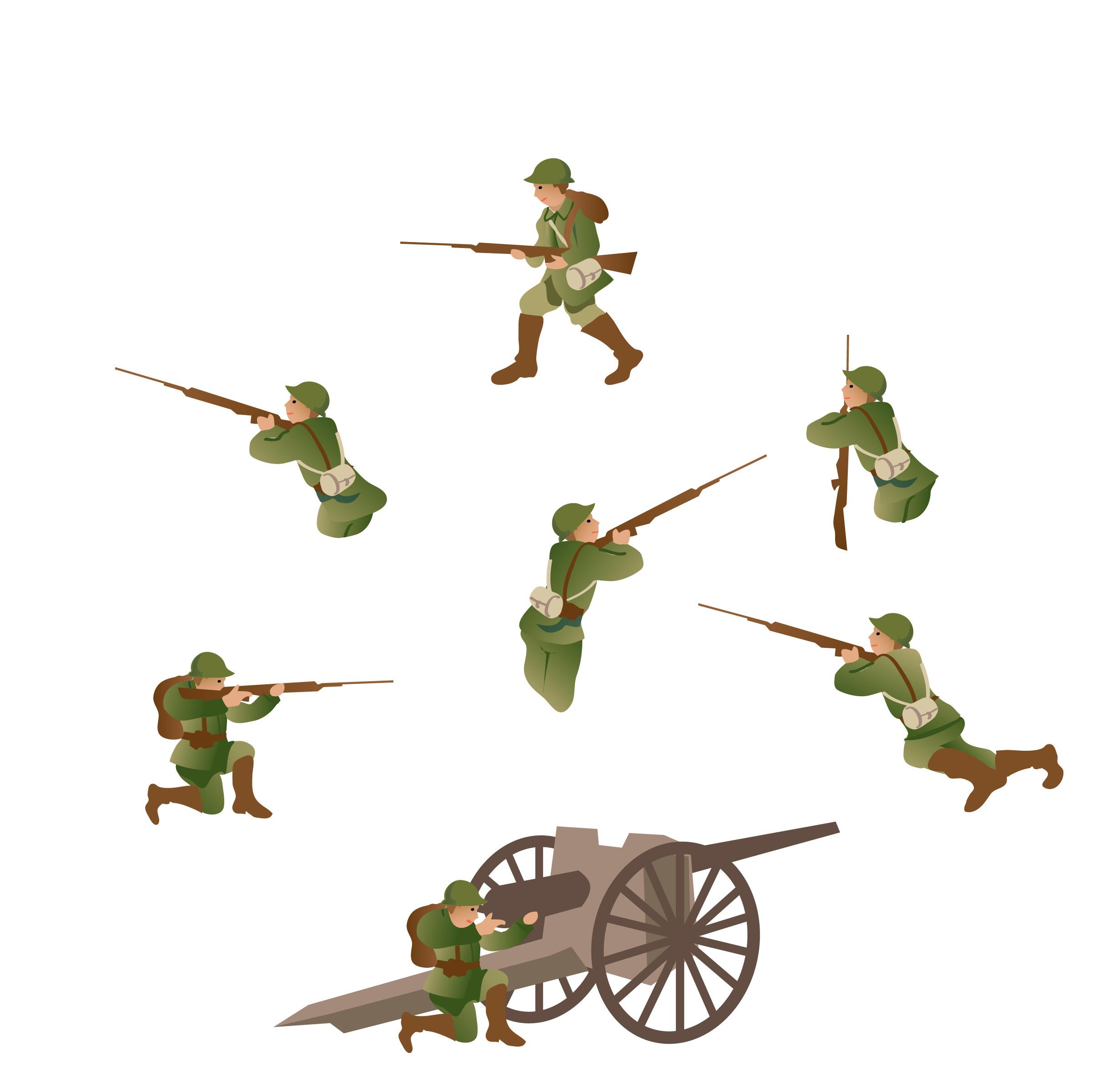 Soldats allemands 1916