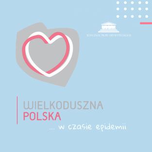 Wielkoduszna Polska spieszy z pomocą psychologiczną