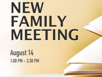 New Family Meeting