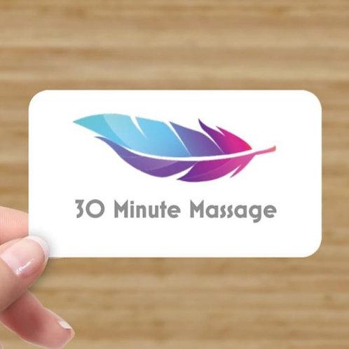 30 Minute Zero Gravity Massage