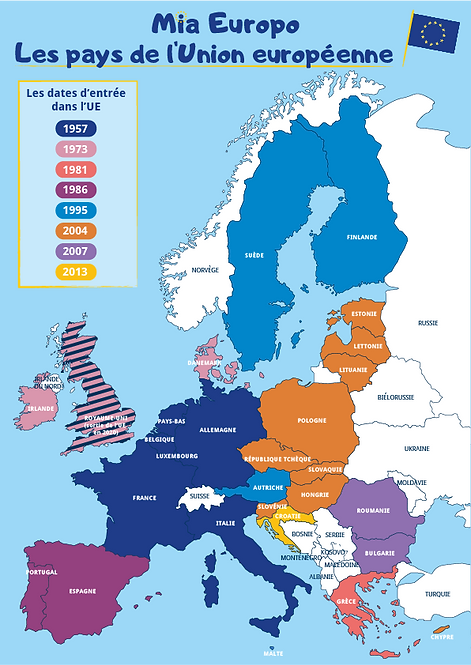 La nouvelle carte de Mia Europo