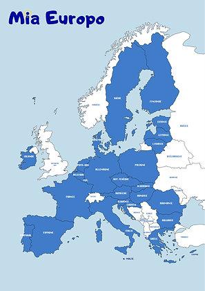 Le poster Mia Europo
