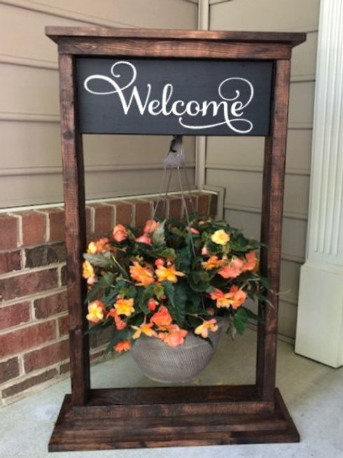 Hanging Plant Stand - Porch Pickup Only
