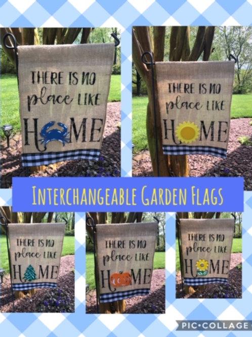 Interchangeable Garden Flags