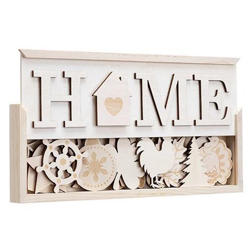 "DIY Interchangeable ""HOME"" Kit"