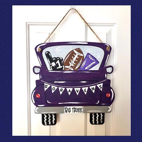 Ravens Door Hanger
