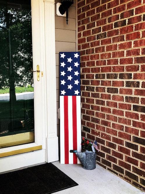 Extra Large Patriotic Porch Sign