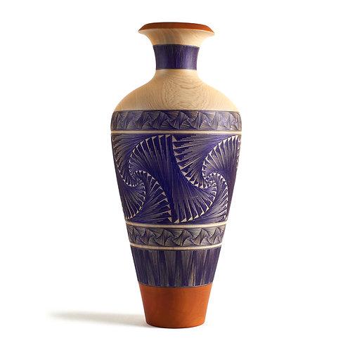 DelaRosa Vase Tamo de Pasto Front View