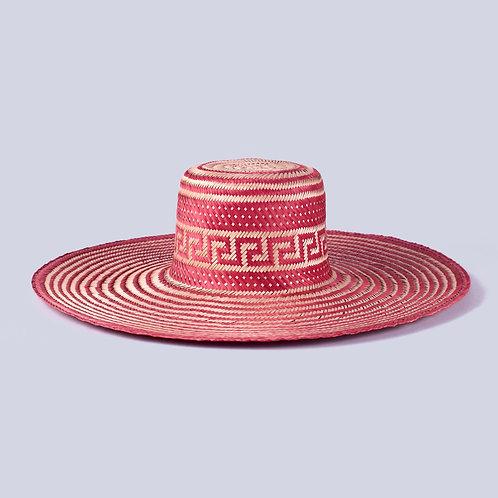 Hibiscus Macuira Hat Front View Wayuu