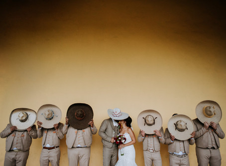 Angela + Adrián Wedding at Ex Hacienda la Ferrería