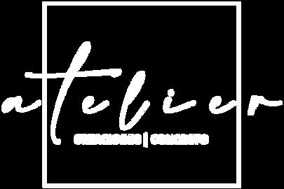 Atelier Creaciones Concreto Logo Blanco